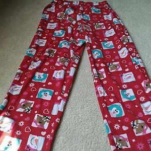 Girl's Holiday Pajama Pants!